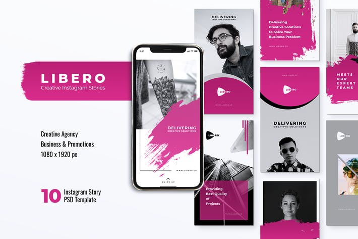 Thumbnail for LIBERO Creative Agency Instagram Stories