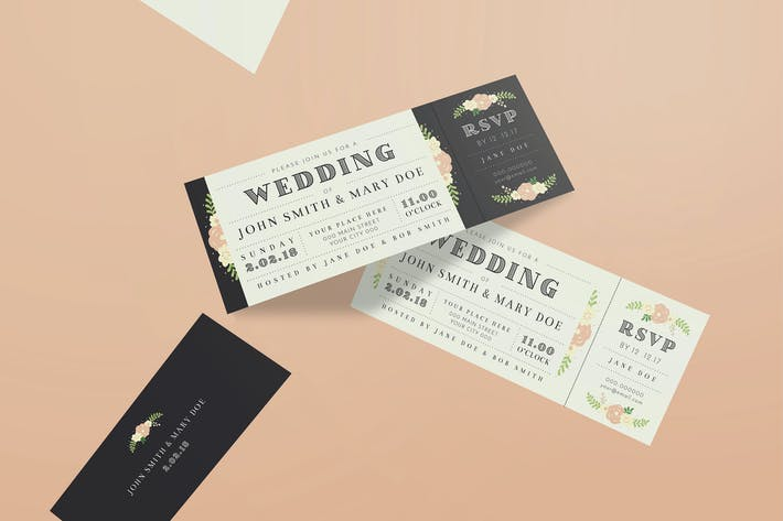 Thumbnail for Wedding Invitation Ticket