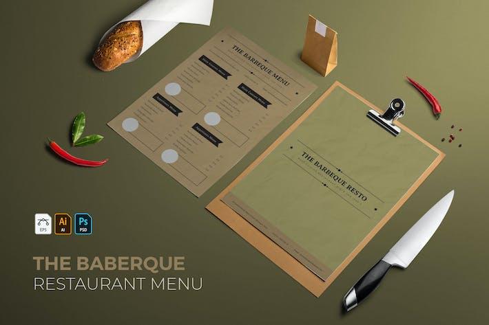 The Barbeque | Restaurant Menu