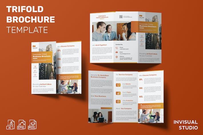 Corporate - Trifold Brochure Template
