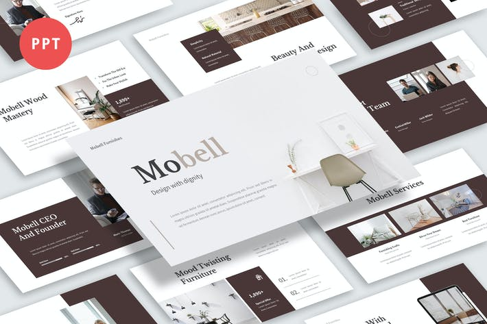 Thumbnail for Mobell Powerpoint Template