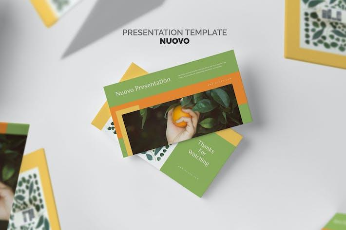 Nuovo: Keynote по органическим продуктам питания
