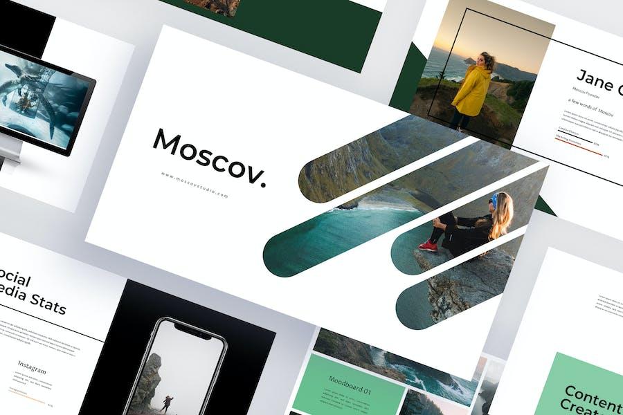 Moscov - Google Slides Template