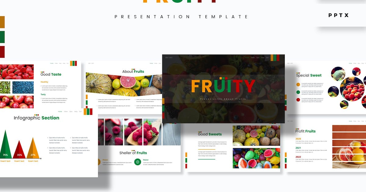 Download Fruity - Presentation Template by aqrstudio