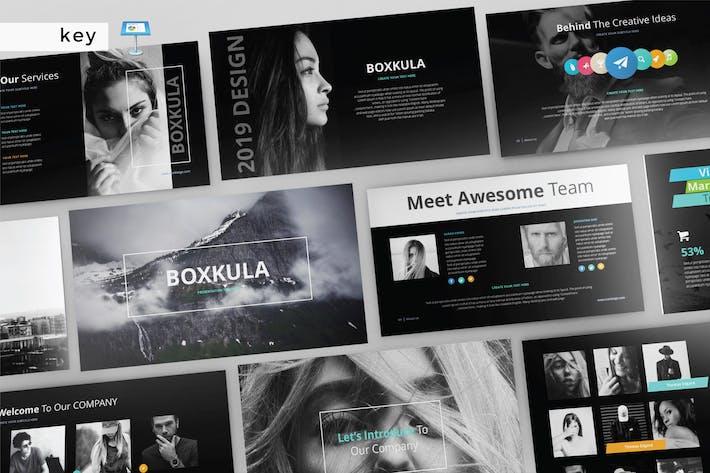 Thumbnail for BOXKULA - Keynote Vorlage V140