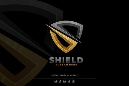 Shield Gradient Logo