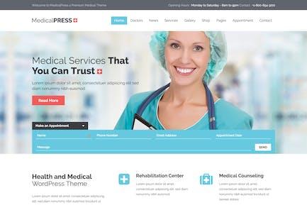 MedicalPress - Health and Medical HTML Template