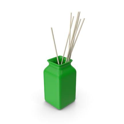 Keramische Grüne Vase