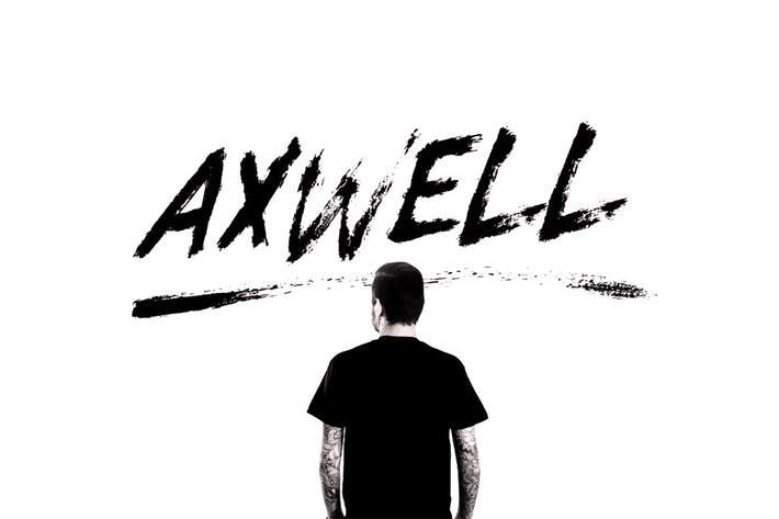Thumbnail for Axwell Brush Font