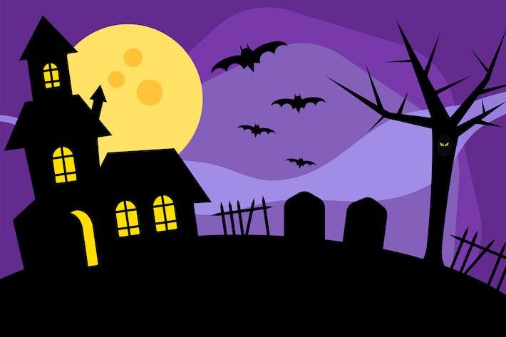 House encantada de Halloween