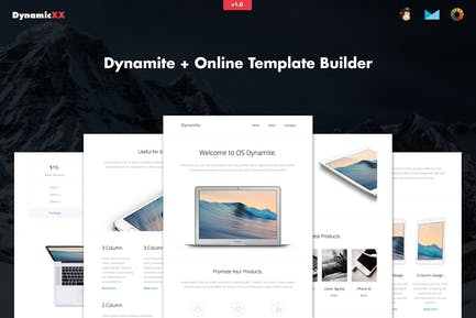 Dynamite - Responsive APP / Promotion Email