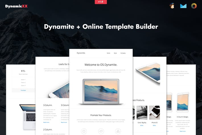 Thumbnail for Dynamite - Responsive APP / Promotion Email