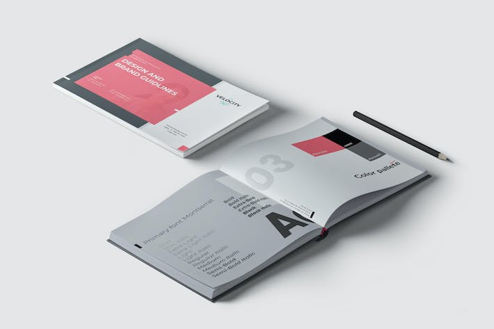 Thumbnail for Velocity - Brand Guideline Template
