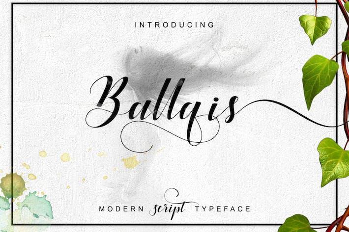 Thumbnail for Ballqis Script