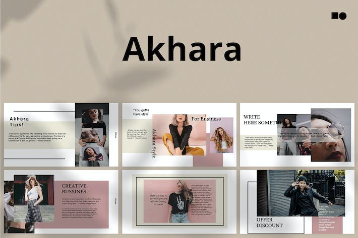 Thumbnail for Akhara - Google Slides