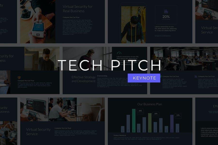 Tech Pitch - Keynote Template