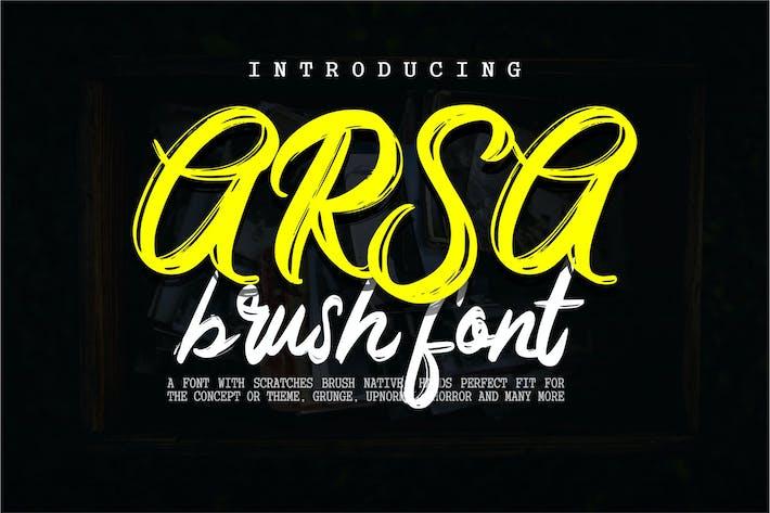 Thumbnail for Arsa - Brush Font