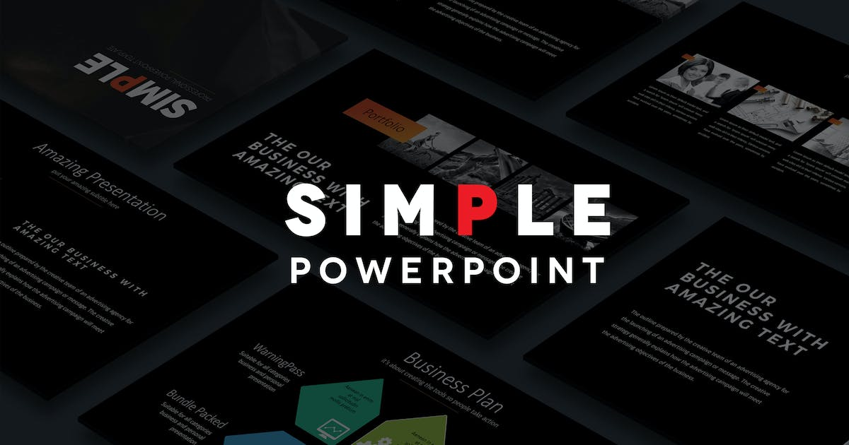 Simple Powerpoint By Artmonk On Envato Elements