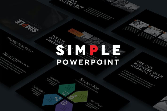 "Download 788 PowerPoint ""simple"" Presentation Templates"