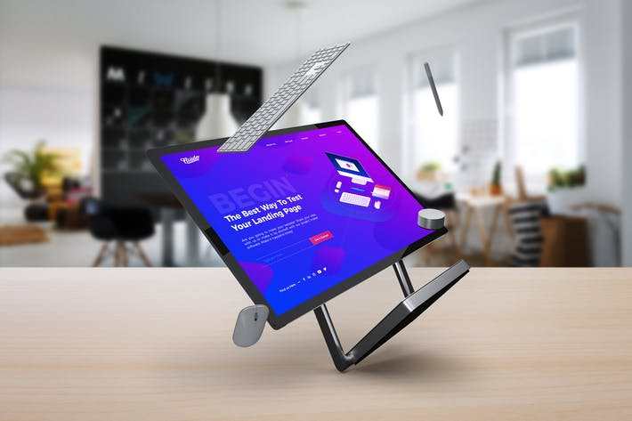 Thumbnail for Surface Studio Mockup V.3