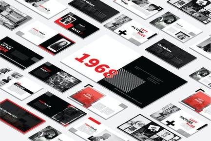 Modernes Layout Powerpoint