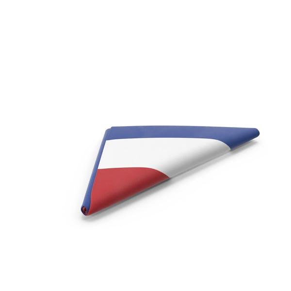 Flag Folded Triangle Netherlands