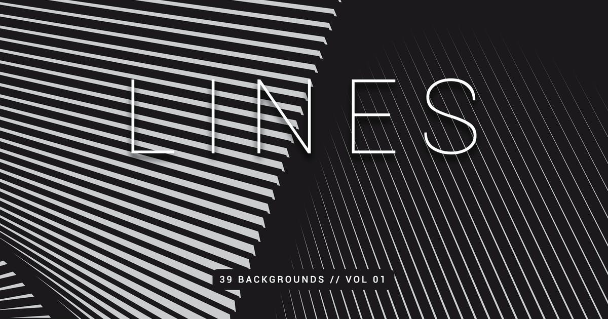 Download Lines | Abstract Stripes Backgrounds | Vol. 01 by devotchkah