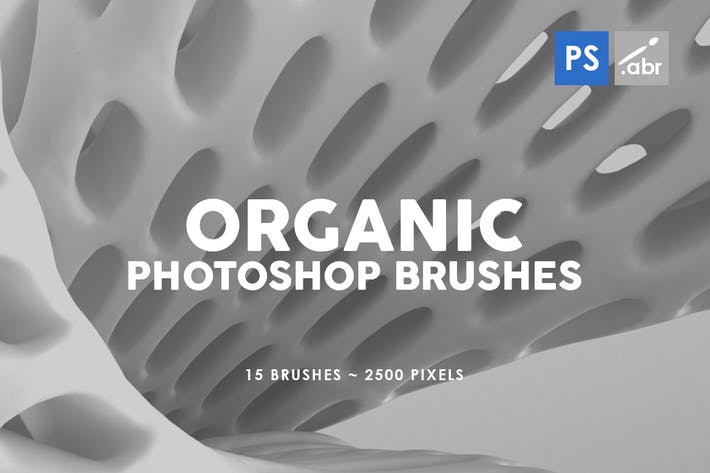 Thumbnail for 15 органических Кисти для штампов Photoshop