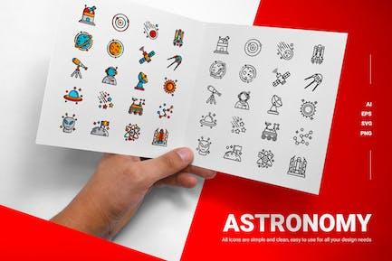 Astronomy - Icons