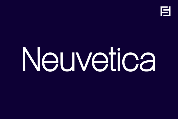 Thumbnail for Neuvetica - Authentic & Timeless Swiss Typeface