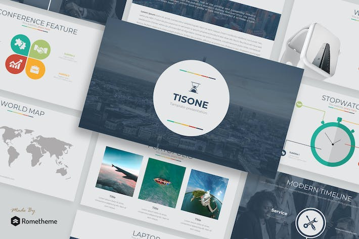 Thumbnail for Tisone - Keynote Template
