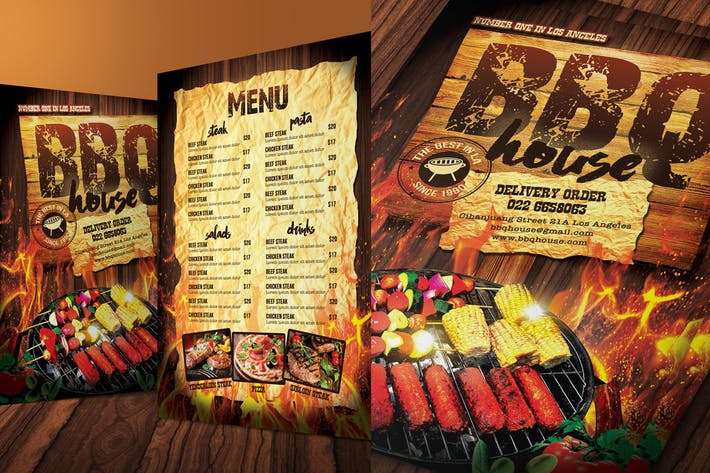 Thumbnail for Barbecue / Steak Menu