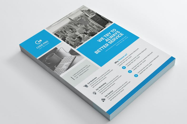 Thumbnail for Business Flyer Template 07