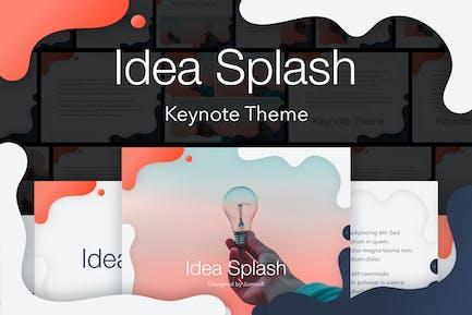 Idea Splash Keynote Vorlage