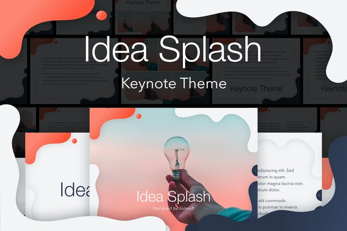 Thumbnail for Idea Splash Keynote Template