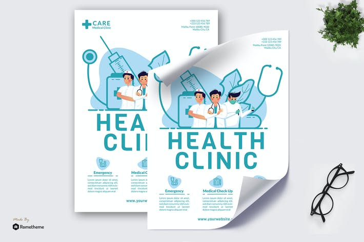 Thumbnail for Health Clinic - Kreative Poster GR