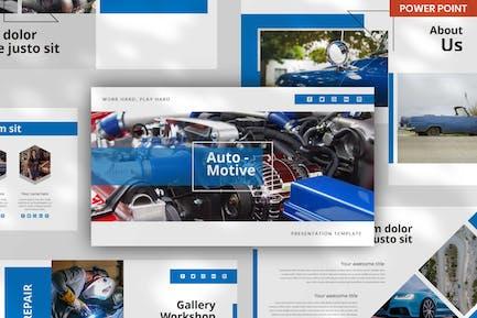Autocar Automotive - PowerPoint