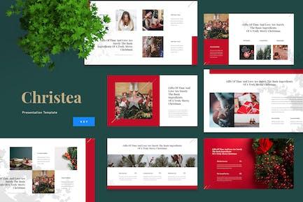 Christea - Christmas Keynote Template