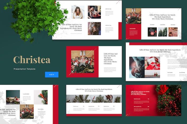 Thumbnail for Christea - Christmas Keynote Template