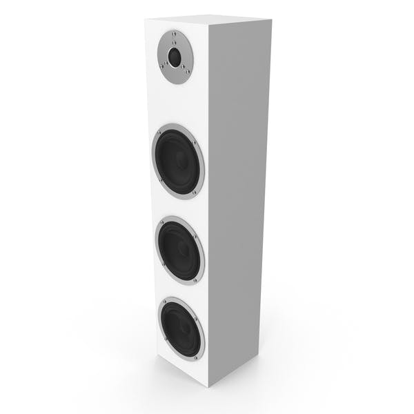 Thumbnail for White Floor Speaker
