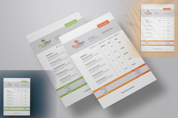 ReeMex Corporate Invoice