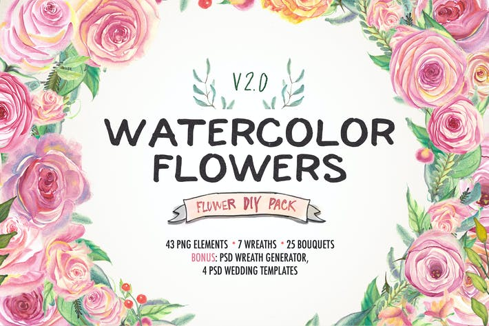 Thumbnail for Watercolor DIY pack 2.0