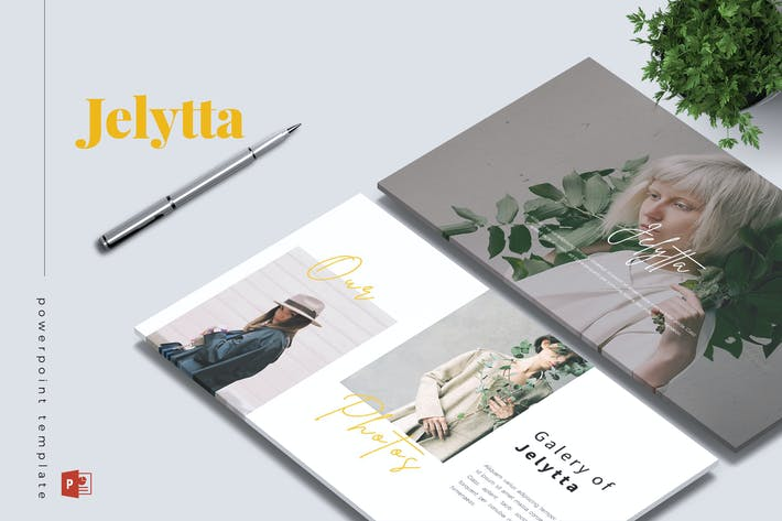 Cover Image For JELYTTA - Creative Powerpoint Template