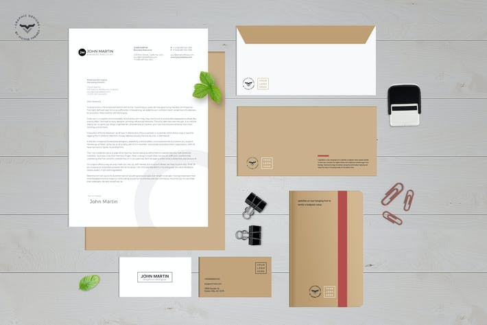 Thumbnail for Stationary Kit Mockups