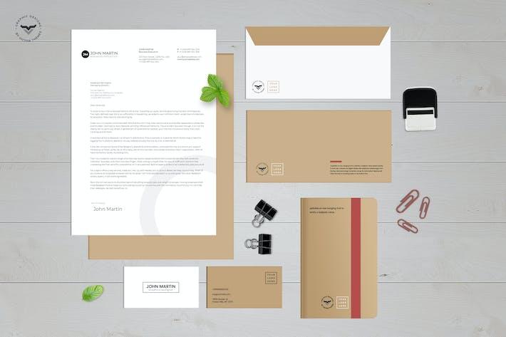 Cover Image For Stationary Kit Mockups