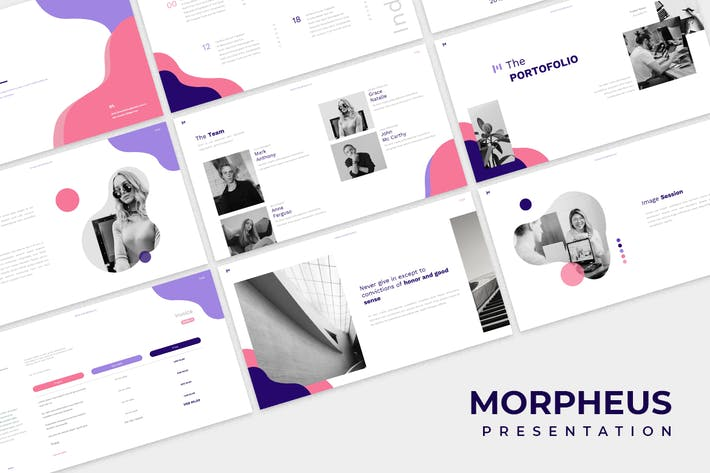 Thumbnail for Morpheus Google Slides