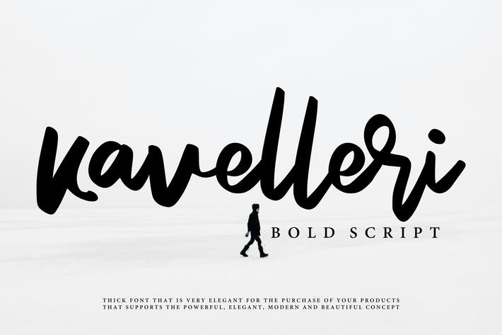 Thumbnail for Kavelleri - Brush Font