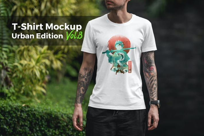 Thumbnail for T-Shirt Mockup Urban Edition Vol. 8