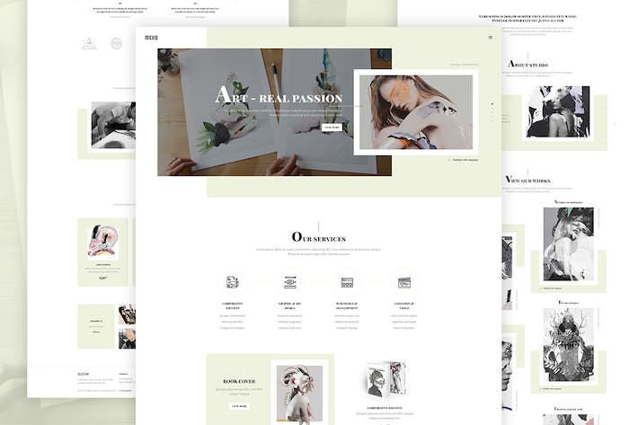 Cover Image For Mevo - Creative eCommerce HTML Template