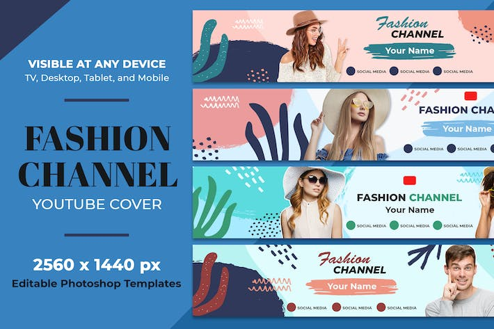 Thumbnail for Fashion Youtube Cover